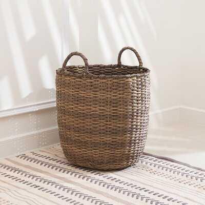Lucia Wicker Basket - Wayfair