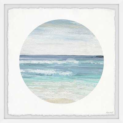 'Relaxing Beach' Picture Frame Painting Print on Paper - Wayfair