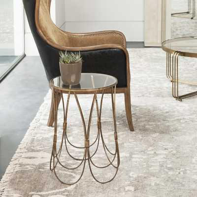Kalindra Gold Accent Table - Hudsonhill Foundry
