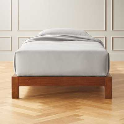 Simple Wood Bed Base Twin - CB2