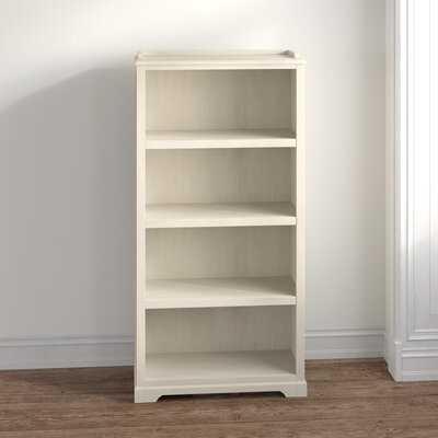 Chloe 4 Shelf Standard Bookcase - Wayfair