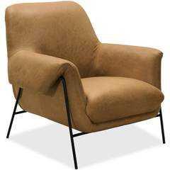 Ambroise Leather Club Chair, Saddlebag Coin - High Fashion Home
