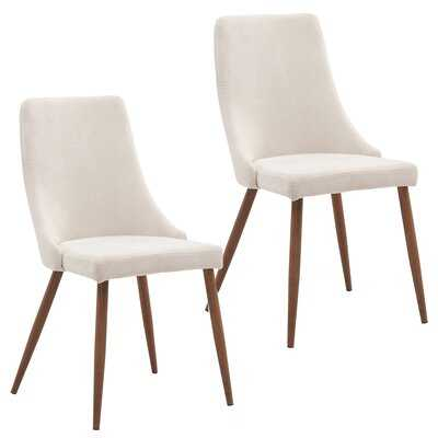 Blaise Upholstered Dining Chair (set of 2) - Wayfair