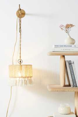 Rara Jute Sconce - Anthropologie