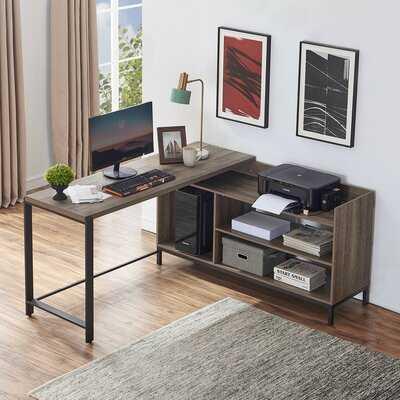 Emerystone L-Shape Executive Desk - Wayfair