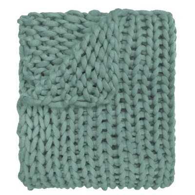 Hardwick Chunky Knitted Throw - Birch Lane