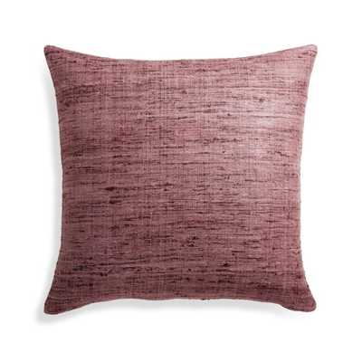 "Trevino Dusty Lavender Pillow Cover 20"" - Crate and Barrel"