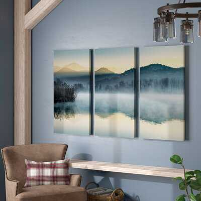 'Quiet Morning' Multi-Piece Image on Wrapped Canvas - Birch Lane