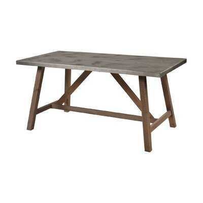 "Tombolo 31.5"" Trestle Dining Table - Wayfair"