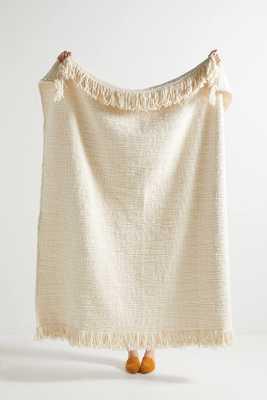 Textured Kadin Throw Blanket - Anthropologie