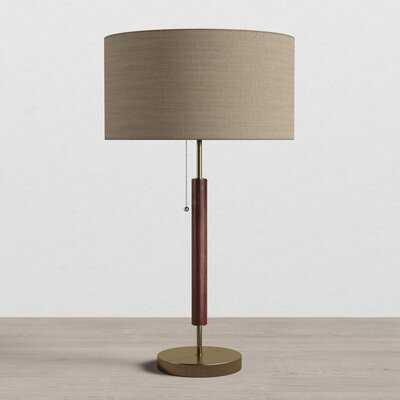"Pamela 26""  Walnut Standard Table Lamp - AllModern"