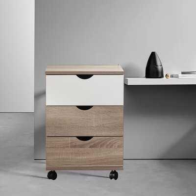 Demodena 3-Drawer Vertical Filling Cabinet - Wayfair