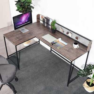 Vela L-Shaped Desk - Wayfair