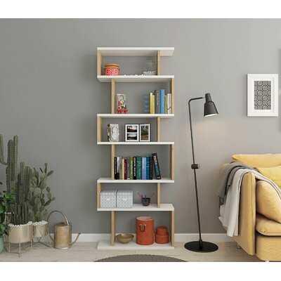 Adamczak Geometric Bookcase - Wayfair