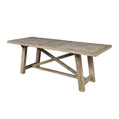 Fahey Acacia Solid Wood Dining Table - Wayfair