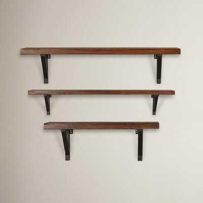 Depalma 3 Piece Wall Shelf Set - Wayfair