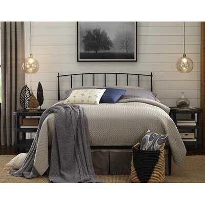 Harly Metal Queen Standard Bed - Wayfair