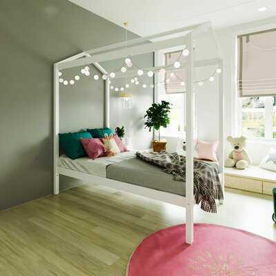 Brionna Solid Wood House Twin Platform Bed - Wayfair