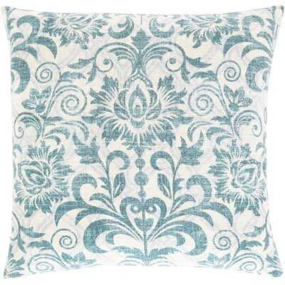 Cotten Cotton Floral 20'' Throw Pillow Cover - Birch Lane