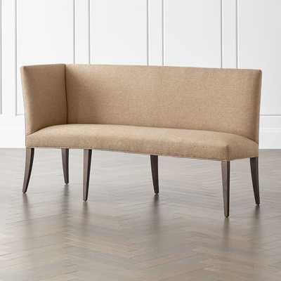 Miles Left Facing Return Banquette Bench - Crate and Barrel