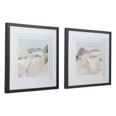 Framed Western Landscape Prints, Set of 2 - Cove Goods