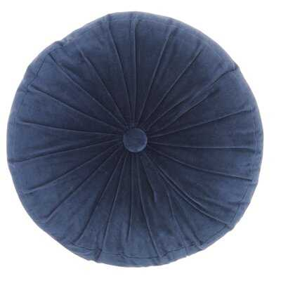 Gaelle Cotton Round Throw Pillow Allmodern
