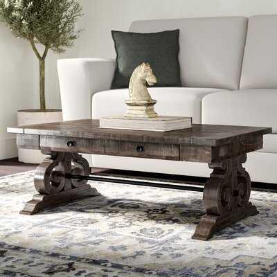 Ellenton Coffee Table with Storage - Wayfair