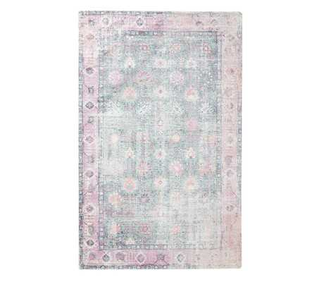 Bright Medallion Rug, 7x10, Pink Multi - Pottery Barn Kids