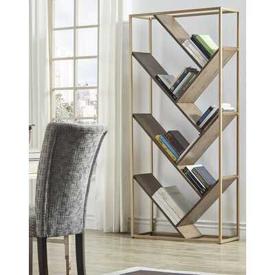 Eury Geometric Bookcase - Wayfair