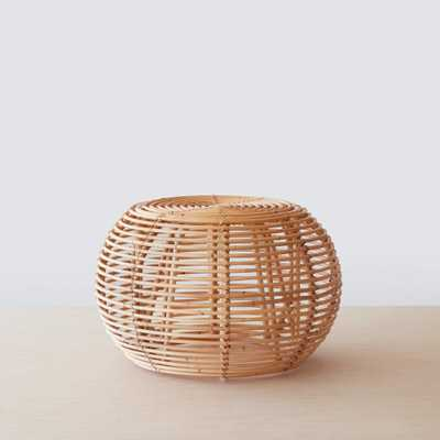 Java Rattan Ottomans - Small By The Citizenry - The Citizenry
