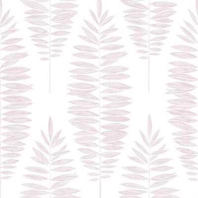 Boutique Lucia Pink Removable Wallpaper - Home Depot
