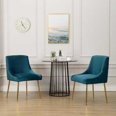 Hamisi Upholstered Side Chair (Set of Two) - Wayfair