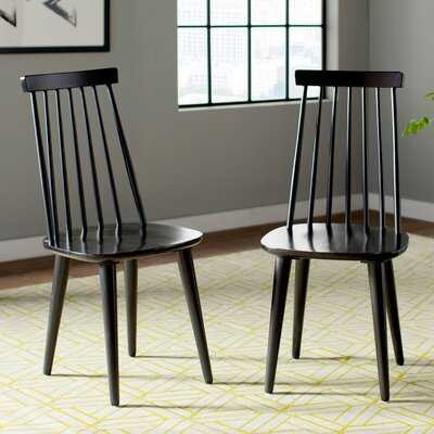 Teo Solid Wood Dining Chair (Set of 2) - AllModern