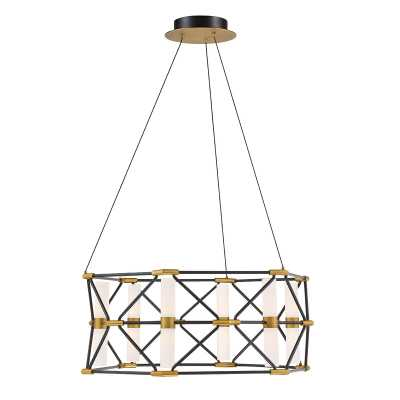 Modern Forms Labyrinth 6 - Light Unique / Statement Geometric LED Chandelier - Perigold
