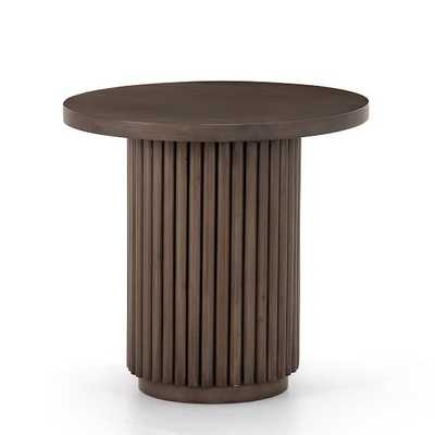 Channel Base End Table - West Elm