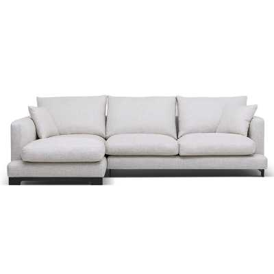Camerich Lazy Time Sectional Fabric: White, Orientation: Left Hand Facing - Perigold