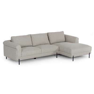 "111"" Wide Right Hand Facing Sofa & Chaise - Wayfair"