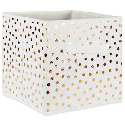 Small Dots Nonwoven 4 Piece Fabric Cube Set - Wayfair
