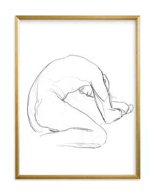Seated Figure Art Print - Minted