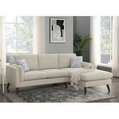 "Keenum 93"" Wide Right Hand Facing Sofa & Chaise - Wayfair"