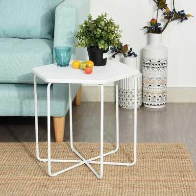 Brittant Cross Legs End Table - Wayfair