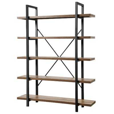 5-Tier Open Bookcase - Wayfair
