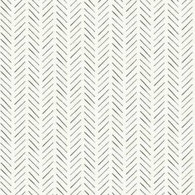 Magnolia Home by Joanna Gaines 34 sq ft Magnolia Home Pick-Up Sticks Peel and Stick Wallpaper, Black - Home Depot