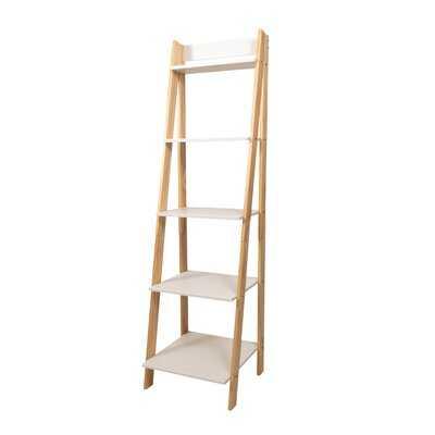 Matt Standard Split Ladder Bookcase - Wayfair