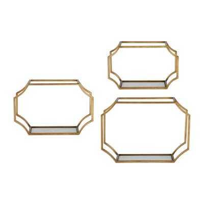 Clavene 3 Piece Wall Shelf Set - AllModern