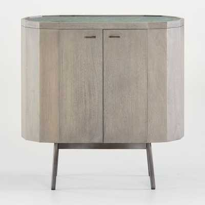 Bradshaw Small Green Marble Sideboard - Crate and Barrel