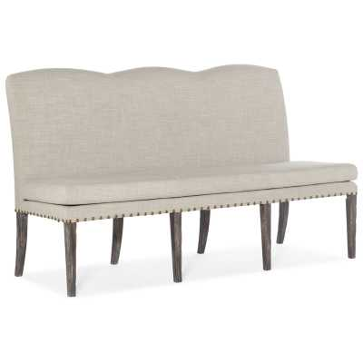Hooker Furniture Beaumont Upholstered Dining Bench - Perigold
