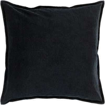 "Cotton Velvet - CV-012 - 18"" x 18"" - with poly insert - Neva Home"