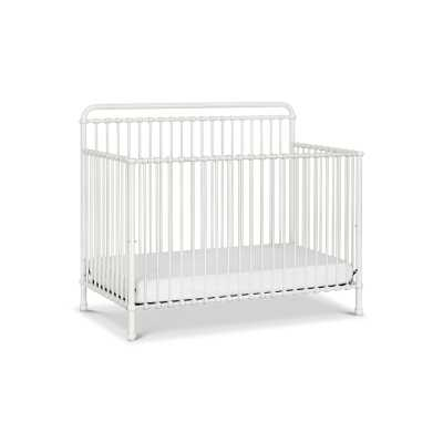 Winston 4-in-1 Convertible Crib Color: Washed White - Perigold