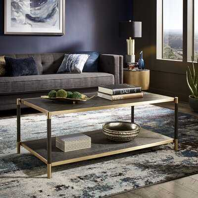Beckham Coffee Table with Storage - Wayfair